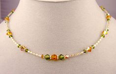 Beaded Necklaces | Handmade Beaded Necklaces: Gemstone, Beaded, Swarovski Crystal ...