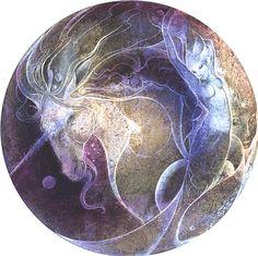 Unicorn, mermaid, and fish by Susan Seddon Boulet (pinned from http://artilo-artilo.blogspot.com/2012/07/susan-seddon.html)