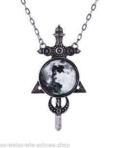 Restyle-Halskette-Gothic-Mond-Schwert-Moon-Sword-Sailor-Necklace-Steampunk-Luna
