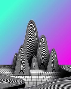 LES ÉTRANGERS  #abstract #geometric #surreal #iphoneonly