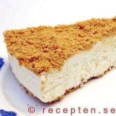Cheesecake Best Dessert Recipes, Fun Desserts, Sweet Recipes, Frozen Cheesecake, Cheesecake Recipes, Swedish Recipes, Food Cakes, Love Cake, Something Sweet