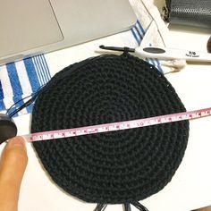 코바늘 블랙 버킷햇 (도안수정) : 네이버 블로그 Crochet Hats, Caps Hats, Knitting Hats