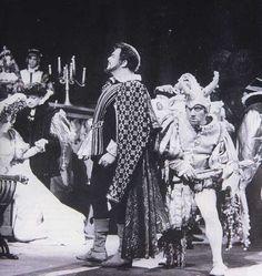 """Luciano Pavarotti as the Duke of Mantua in Verdi's """"Rigoletto"""""""