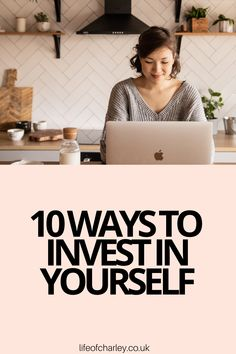 Today I'm sharing 10 ways to invest in yourself as a woman in your twenties! #selfimprovement Your Best Life Now, Life Is Good, Successful Women, Women Life, Career Advice, Finance Tips, Growth Mindset, Girl Boss, Self Improvement