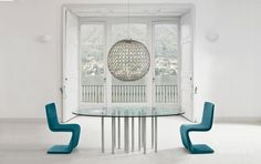 mille oval dining table by bonaldo | bartoli design | awhiteroom uk