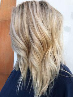 Beach Blonde by Stephanie Carrillo ( Modest Spot Salon Beach Blonde, Salons, Long Hair Styles, Beauty, Beleza, Lounges, Long Hair Hairdos, Cosmetology, Long Hairstyles