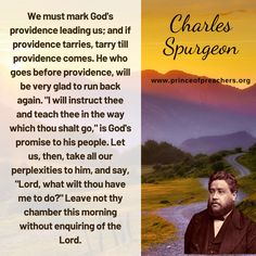 Charles Spurgeon Quotes, Christian Sayings, John Piper, News Space, Quotes By Famous People, Inspiring Quotes, Cool Words, Encouragement, Self