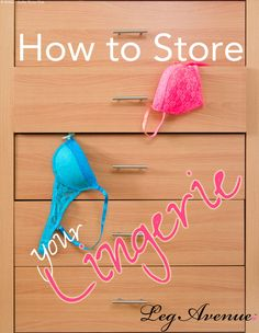 Has your underwear drawer turned into a complete disaster? We understand the struggle! Check out our new blog to find out ways to organize your lingerie!   http://www.legavenue.com/blog/how-to-store-your-lingerie/