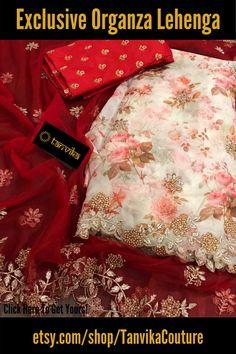 Half Saree Lehenga, Saree Dress, Lehenga Wedding, Bridal Sarees, Blouse Designs Silk, Elegant Fashion Wear, Cut Work, Saree Collection, Print And Cut