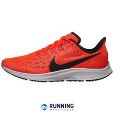 469ece6291 Nike Zoom Pegasus 36 Men's Shoes Bright Crimson/Black Perfect for everyday  running, the