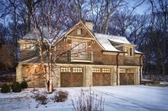 Residential Landscapes - traditional - Garage And Shed - New York - Bosenberg and Company Landscape Architects