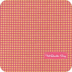 Home Grown Pink Buttons Yardage SKU# 11710106-2