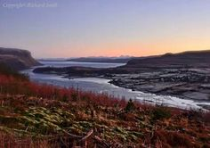 Loch Portree and the Sound of Raasay , Isle of Skye