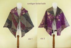Batik Cardigan  made in Indonesia