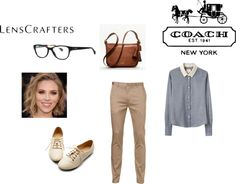 """""""Share Your Style with LensCrafters and Coach"""" by asia-isabella on Polyvore"""