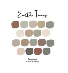 Earthy Color Palette, Neutral Colour Palette, Taupe Color Palettes, Gender Neutral Colors, Grey Palette, Grey Colors, Color Tones, Muted Colors, Earth Tone Colors