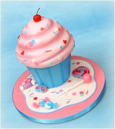 Cupcake Cake - SugarEd Productions