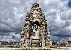San Isidro en el Puente Toledo de Madrid. España