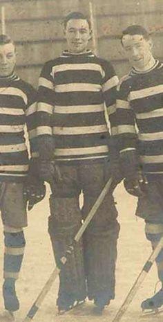 Legendary goalie Clint Benedict of NHL Ottawa Senators & Montreal Maroons.