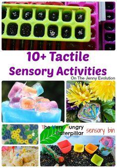10+ Tactile Sensory Activities | The Jenny Evolution