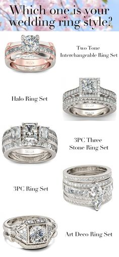 Which one is your Wedding Ring style? Click here and see more about wedding ring. #JeuliaJewelry