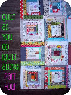 #4 quilt as you go |quilt-along| PART FOUR by sewtakeahike, via Flickr