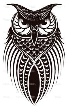 owl stock vector art 18138589 - iStock