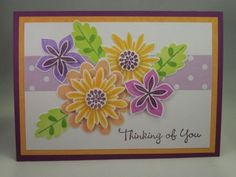 Handmade-Card-FLOWER-PATCH-Stampin-up-Thinking-of-You-Feminine-All-Occassion-5x7