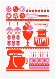 Supertrooper is a design studio based in Northern Beaches in Sydneyprint & pattern: TEA TOWELS
