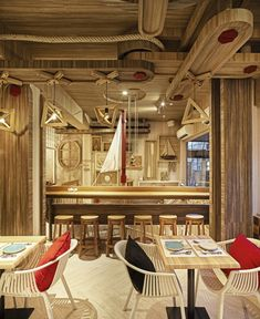 BORN WHALE seafood bar & grill by party/space/design, Bangkok – Thailand » Retail Design Blog