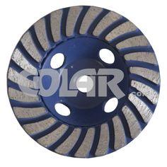 Rebolo Diamantado 100 mm - Gr 036 CR Azul Para Granito - www.colar.com