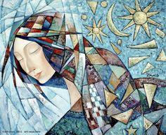 """""""Lady"""", by Zaya (mongolian young artist)"""