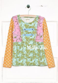 Cottonwood Blossoms Tee (RV $36-38) 18m-12 ~ Secret Fields Fall 2014 - have