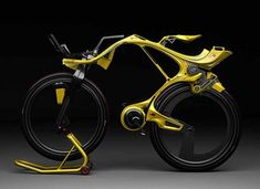 The next look in bike design and innovation: Chainless INgSOC hybrid bike. By Edward Kim and Benny Cemoli. made of carbon-fiber, battery operated with place to dock your iphone!