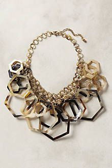 We've just discovered Anthropologie - and this Hedra bib necklace is gorgeous!