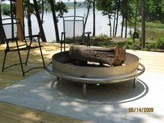Custom Steel Fire Pit