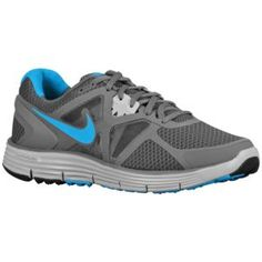 3283fb039d8 Nike LunarGlide + 3 - Men s - Running - Shoes - Dark Grey Wolf  Grey Volt Neptune Blue
