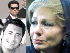 Crying mother Farah Shahbanou of Iran