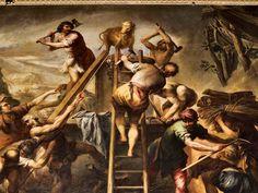ACHADO: Obra retrata Moisés e o sacrifício de animais, tratado no Levítico.  Serviço Católico de Utilidade Pública.
