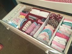 Nesting needs took over this weekend and allowed me to completely organize baby girl's closet and dresser. I went crazy, like Sheldon in Howard and Burnadette's closet. You can see th…