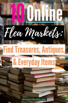 There is something fun about browsing through used goods. Not only are you guaranteed to find something cool, you won't need to spend a lot of money to do it. Make Money Fast, Ways To Save Money, Make Money From Home, Make Money Online, Make 100 A Day, Earn Extra Cash, Get Free Stuff, Lots Of Money, Financial Goals