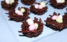 recette de dessert pour paques nid d'oeuf de paques