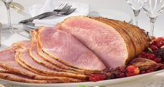 Spiral sliced ham with natural juices hickory smoked Cuban Recipes, Ham Recipes, Cooking Recipes, Filipino Recipes, Cooking Tips, Spiral Sliced Ham, Spiral Ham, Homemade Ham, Dinner And A Movie