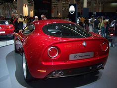 Rear Alfa Romeo 8C