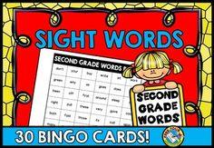 #SIGHT #WORDS #BINGO: #DOLCH #SECOND #GRADE #WORDS
