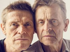 Willem Dafoe and Mikhail Baryshnikov by Christopher Anderson/Magnum Photos Celebrity Photographers, Famous Photographers, Christopher Anderson, Willem Dafoe, Erin Hanson, Mikhail Baryshnikov, Street Portrait, Magnum Photos, Amazing Photography