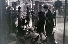 Window display, Regent Street, London, around December 1962