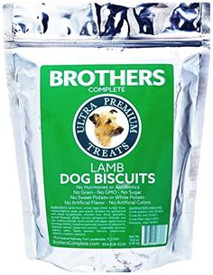 Brothers Complete High Protein Biscuit Treats, Lamb, 16 oz.