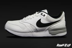 Nike Air Odyssey (WHITE/BLACK-WOLF GREY)  For Men Sizes: from 40 to 46 EUR Price: CHF 120.- ‪#‎Nike‬ ‪#‎AirOdyssey‬ ‪#‎NikeAirOdyssey‬ ‪#‎Sneakers‬ ‪#‎SneakersAddict‬ ‪#‎PompItUp‬ ‪#‎PompItUpShop‬ ‪#‎PompItUpCommunity‬ ‪#‎Switzerland‬ Baskets, Chf, Switzerland, Nike Air, Sneakers Nike, Grey, Shoes, Black, Tennis
