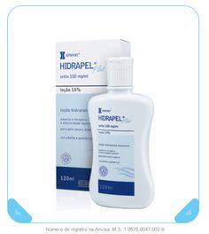 HIDRAPEL® PLUS LOÇÃO 120 ML - • Loção hidratante para peles seca e áspera  • Dermatologicamente testado  • Uso adulto e pediátrico